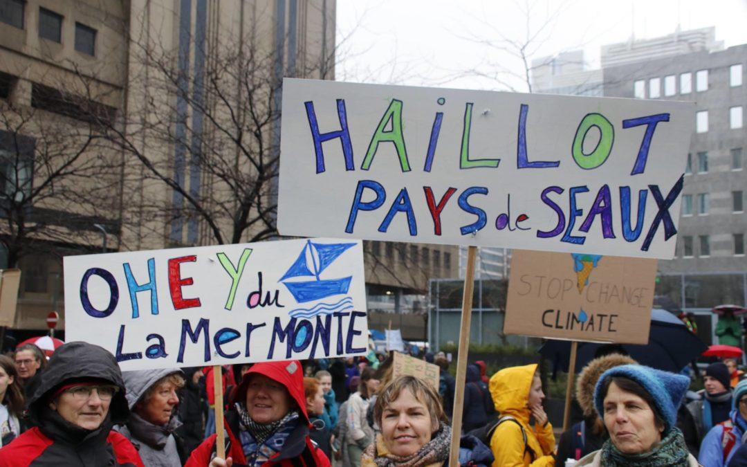 Manifestation pour le climat : Ohey bien représenté !
